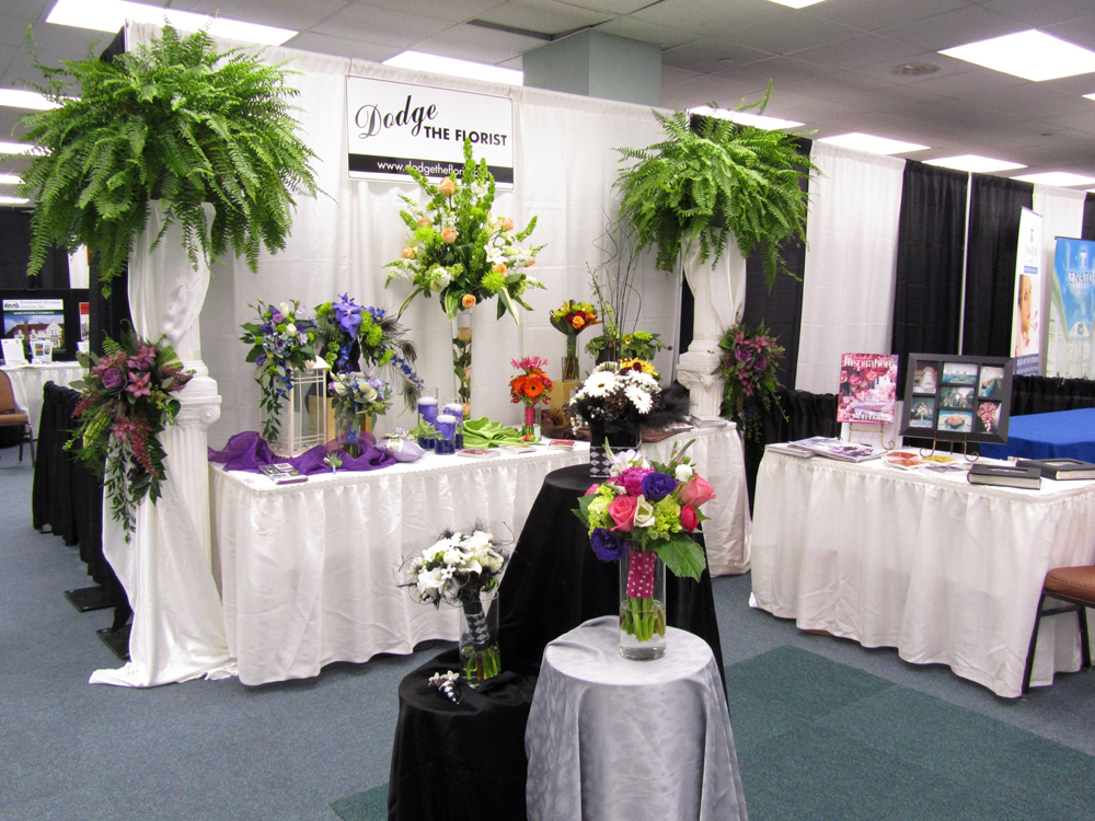 Wedding Expo Booth: Dodge The Florist: The 2012 Portland Bridal Show