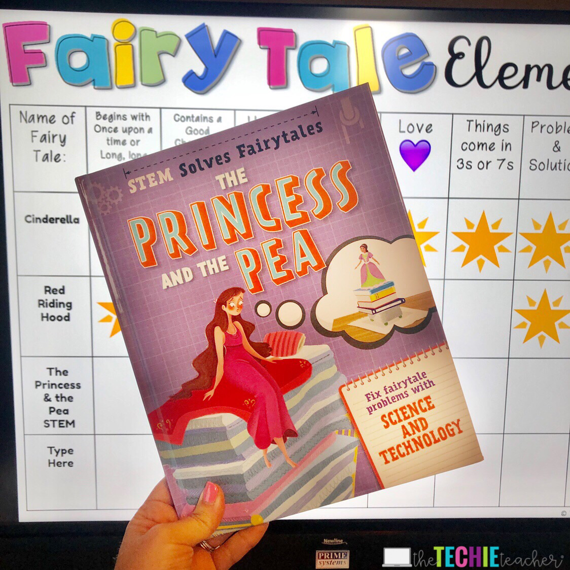 Fairy Tale STEM Stories: Combine reading and STEM!