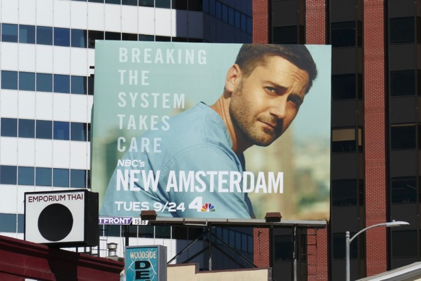 New Amsterdam season 2 billboard