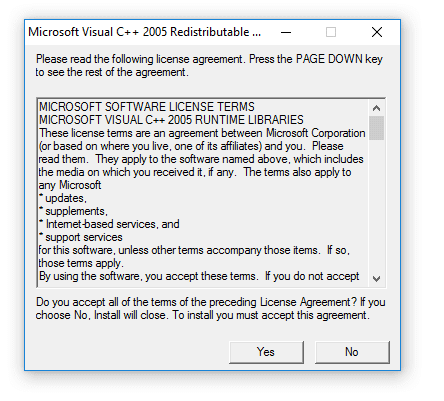 Program Visual C++ 2005