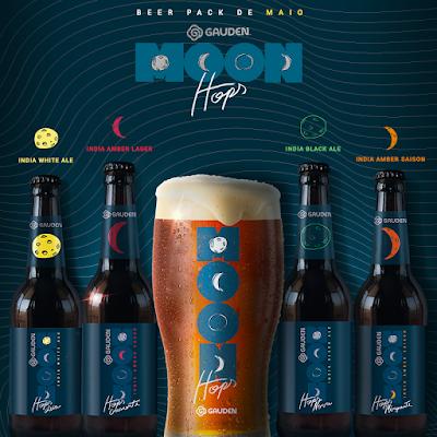 Novas cervejas Gauden Bier, inspiradas nas quatro fases da Lua, chegam com exclusividade para assinantes do Clube do Malte