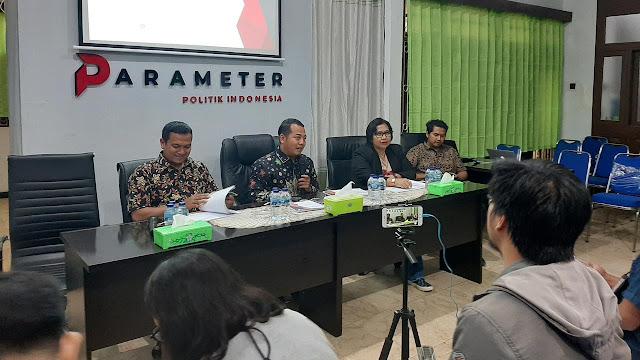 Survei Parameter: Kinerja Jokowi Dinilai Buruk karena Isu KPK
