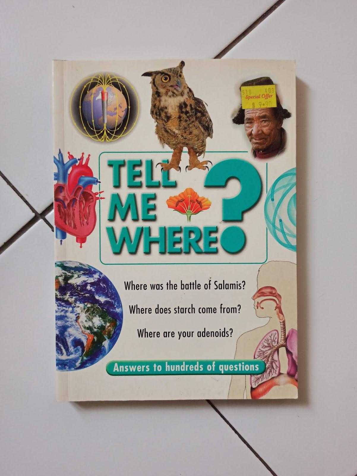 Tell Me Where? by Chancellor Press