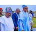 See photo:President Buhari Arrives Osogbo, Osun State