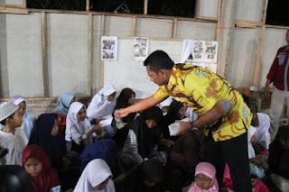 Doa Dan Zikir Kapolres Bersama Anak Yatim Di hari Santri Nasional