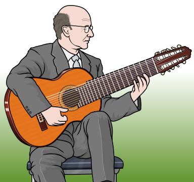 The ten string extended-range classical guitar