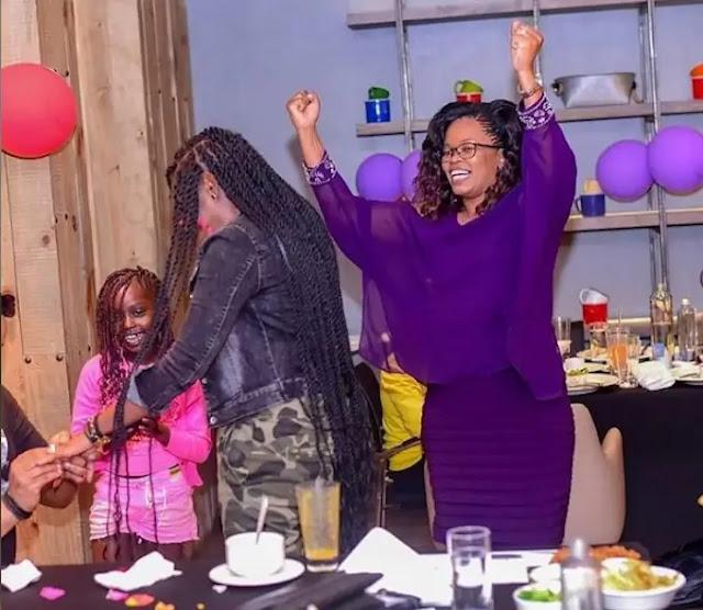 Gospel singer Betty Bayo engagement partyt photos