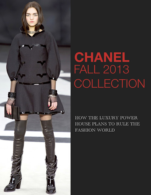 Inspirations on the runway: Chanel Fall 2013