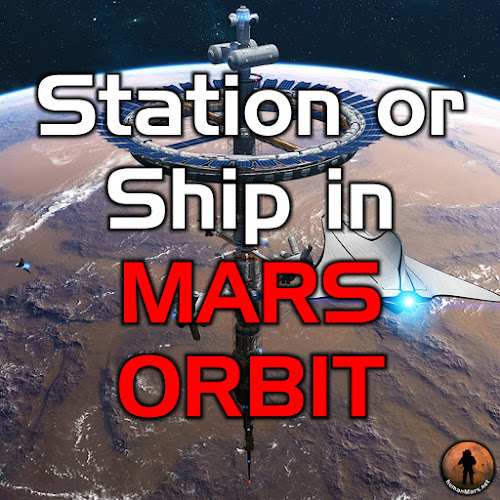 Mars space station