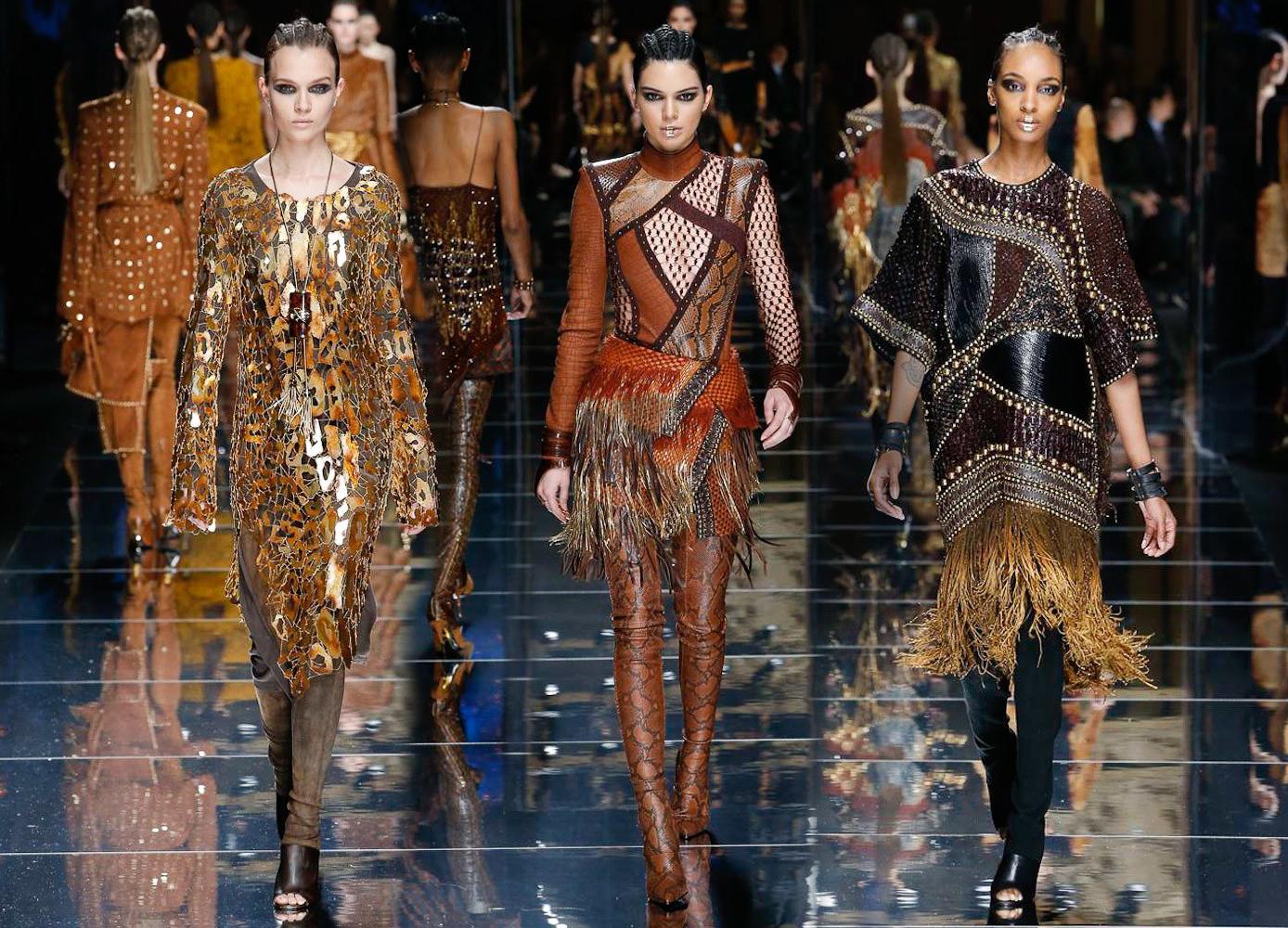 RUNWAY REPORT....Paris Fashion Week: Balmain Fall 2017 ...
