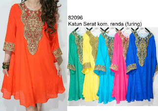 Mini Kaftan Renda fit to XL