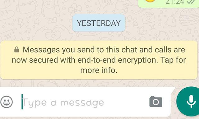 كيف يتم تشفير رسائل الواتساب وهل تتعرف الشركة علي محتوي الرسائل التي نرسلها
