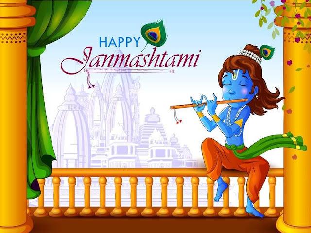 Krishan Sitting : Happy krishan janmashtami
