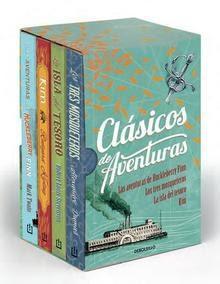 Clásicos de Aventuras - Estuche con 4 libros