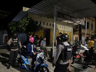 Ciptakan Kondisi Aman, Satuan Sabhara Polres Enrekang Lakukan Patroli Setiap Malam