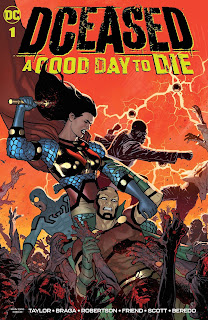 DCeased: A Good Day To Die #1 cover