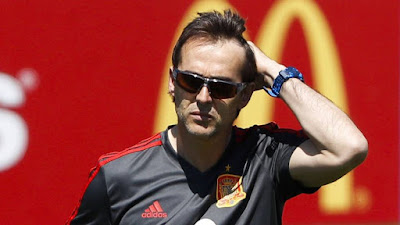 Spain sacks Coach Lopetegui