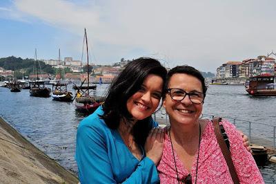 Guia Brasileira no Porto com Turista Brasileira