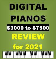 Digital Pianos $3500 to $7500 - Review