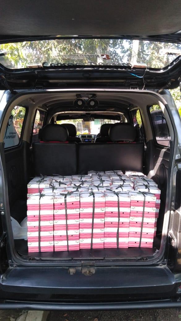 nasi box siap antar ke rumah anda