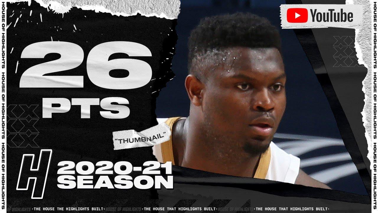Zion Williamson 26pts 10reb 5ast vs UTA | March 1, 2021 | 2020-21 NBA Season