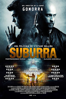 Cartel oficial español: Suburra (2015)