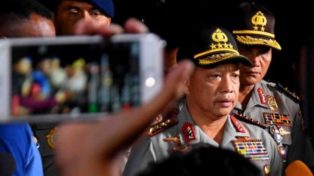 Kapolri Bantah Larang Demo Saat Pelantikan Jokowi
