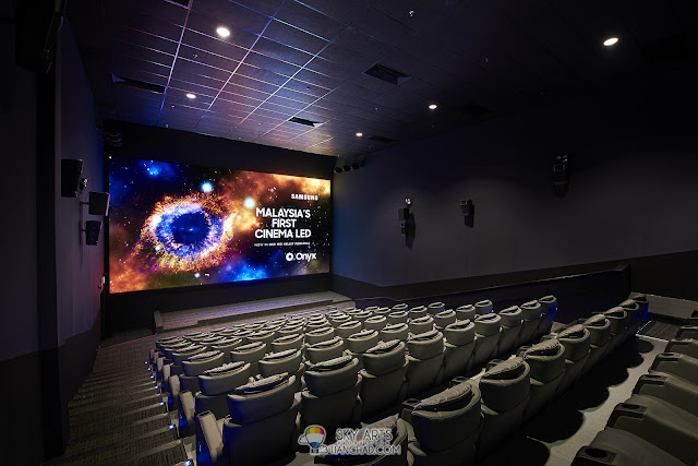 GSC Mid Valley Megamall Hall 11 now with brand new comfortable seats and Onyx Cinema LED Screen
