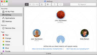 Airdrop from Mac to Mac