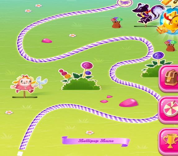 Candy Crush Saga level 4251-4265