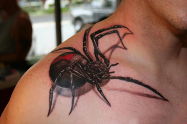 Increibles Tatuajes De Arañas Y Que Significa Tatuarselas