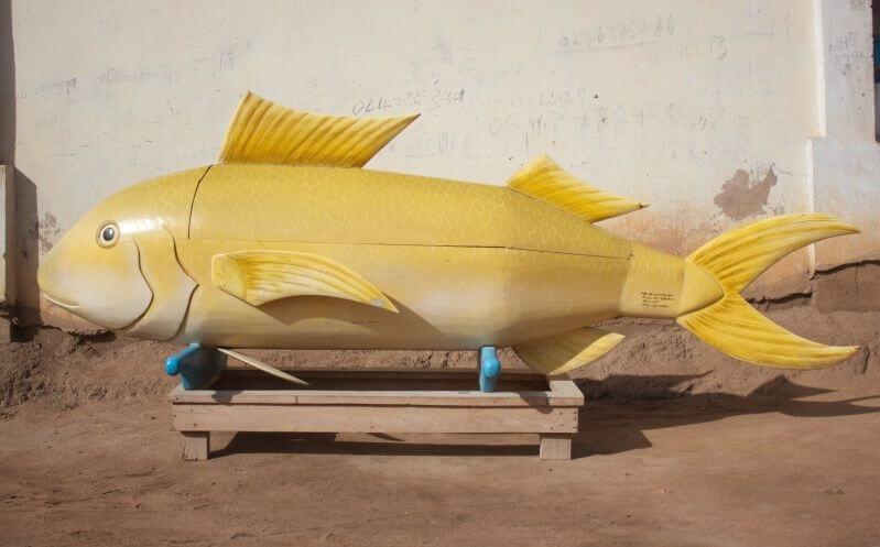 Paa Joe Fish Coffin