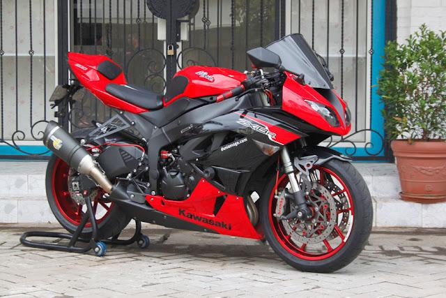 Kelebihan dan Kekurangan Kawasaki ZX6R Tahun 2012