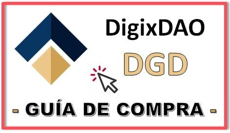 Cómo y Dónde Comprar Criptomoneda DIGIXDAO (DGD)