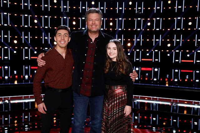 Video Interview: Kat Hammock and Ricky Duran from Team Blake talking performing on 'The Voice'