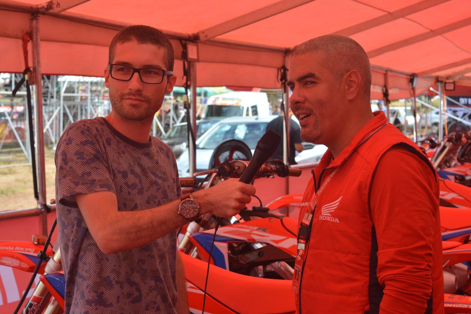 Entrevista com Cale Neto, Chefe de Equipe na Honda Racing Brasil
