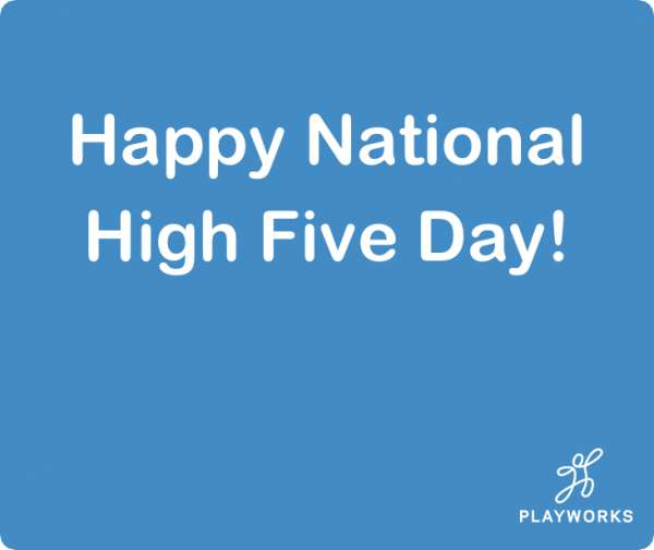 National High Five Day Wishes Unique Image
