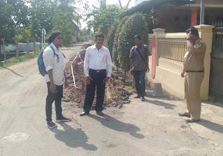 Ketua RW 023 dan Warga Karangbaru Ancam Stop Proyek Drainase