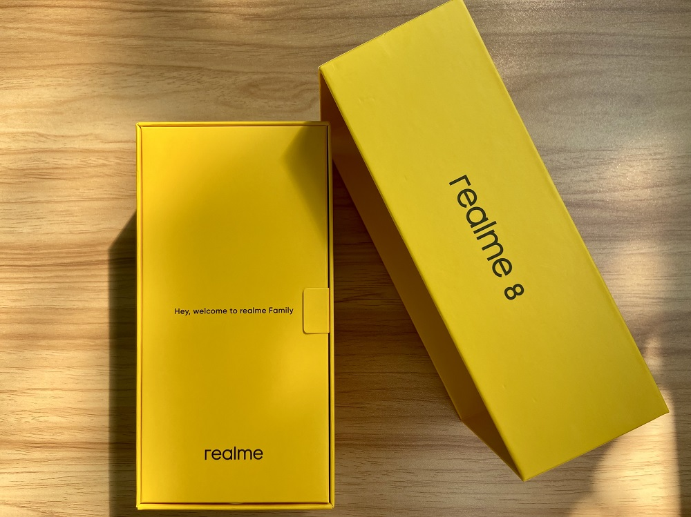 realme 8 Unboxing