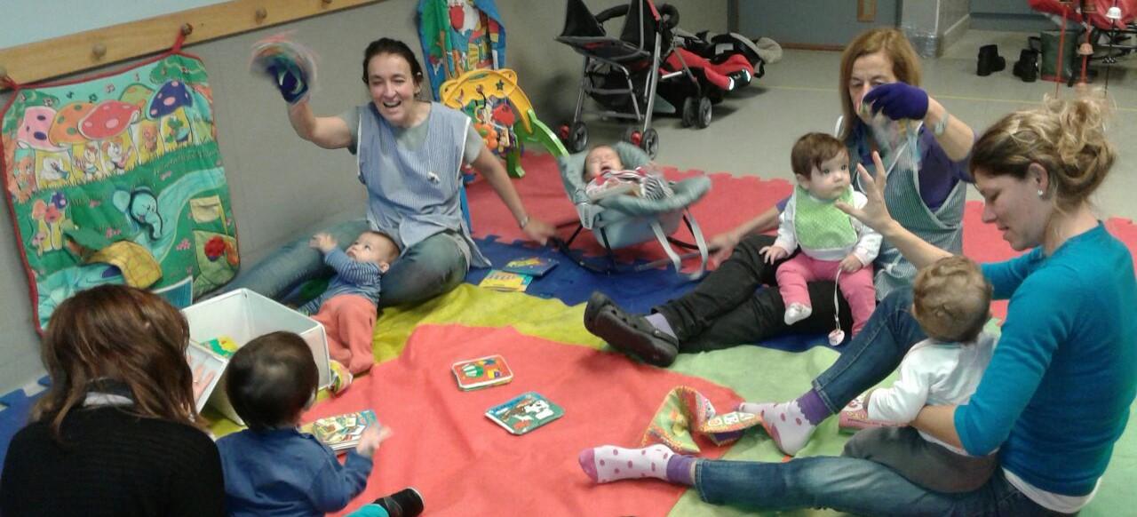 Escuela infantil n 6 d e 10 sala de lactarios 2016 for Actividades para jardin maternal