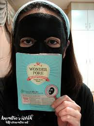 Etude House Wonder Pore Black Sheet Mask