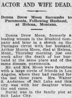 Donna Drew Arthur Moon Death