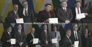 Prefeitos e vereadores da 25ª zona foram diplomados nesta quinta-feira