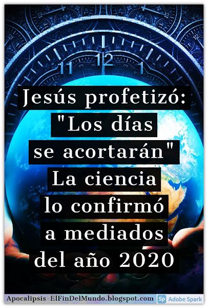 Los Días se Acortarán - Biblia Mateo 24 y Marcos 13 - Profecía en Cumplimiento