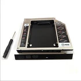 Caddy Bay HDD SSD SATA 3 12.7mm - Khay ổ đĩa cứng thay thế ổ DVD, OEM