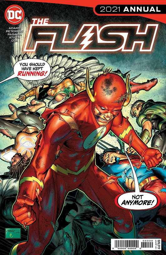 Cover of Flash Annual 2021