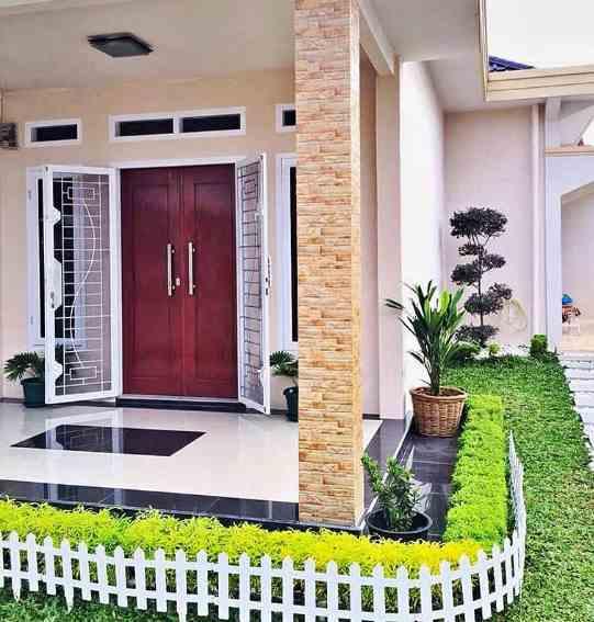 warna pintu rumah type 36