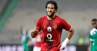مروان محسن يحر ز الهدف