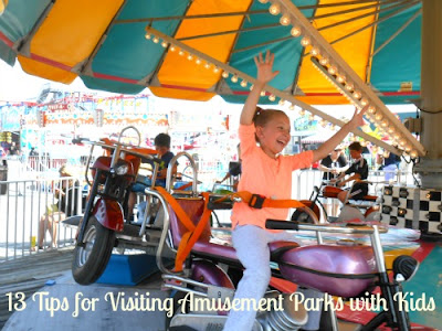 13 Tips for Visiting Amusement Parks with Kids