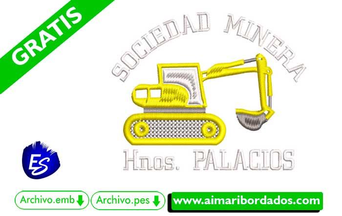 Logo Minera Hnos Palacios Para Bordar